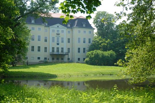Schloss und Schlossteich, Leipzig Knauthain