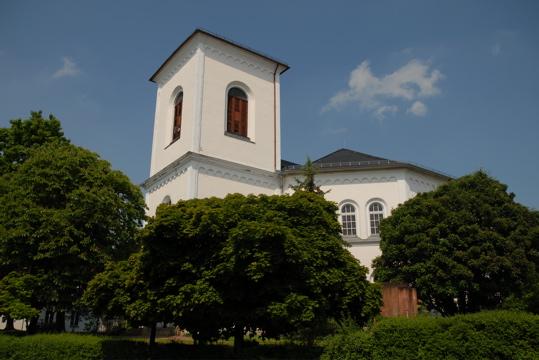 Kirche in Leipzig Knauthain