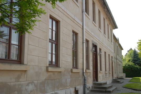 Ehemalige Schule in Leipzig Knauthain